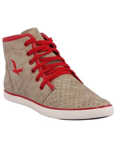 Kraasa 3010 Red Long Sneakers - TheKraasa