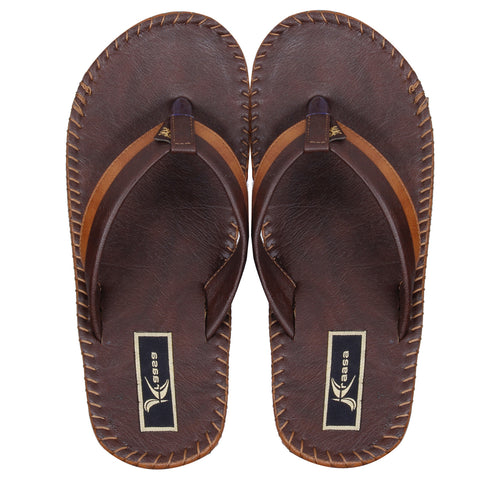Kraasa 403 Brown Slippers