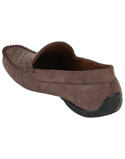 Kraasa 500 Brown Loafers