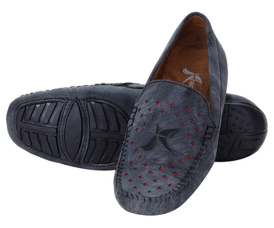 Kraasa 500 Black Loafers