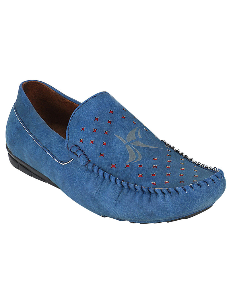 Kraasa 500 Blue Loafers - TheKraasa
