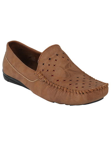 Kraasa 500 Tan Loafers
