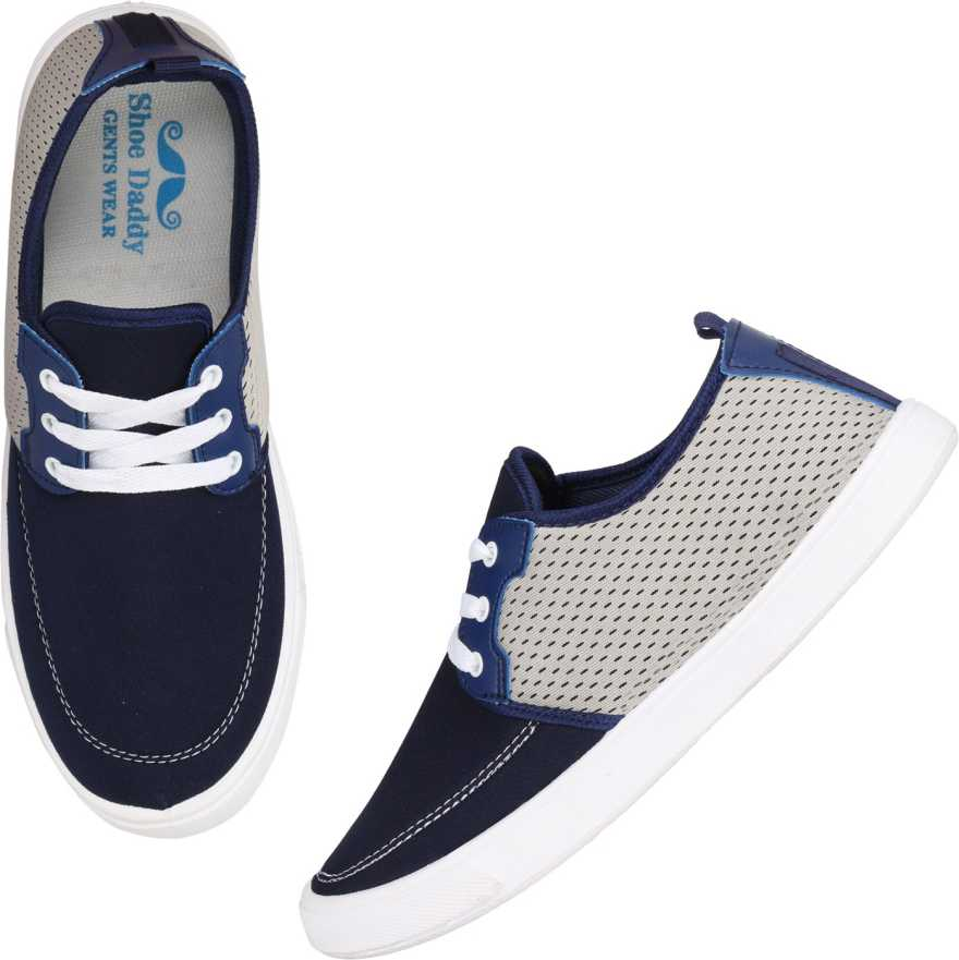 Shoe Daddy Sneakers For Men (Navy)