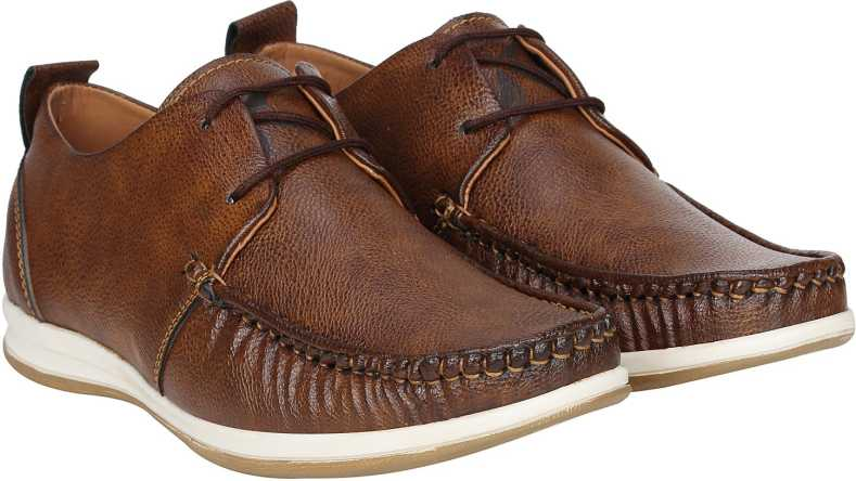 Kraasa Classic Corporate Casuals For Men (Brown)
