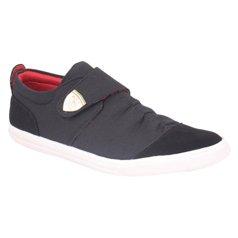 Kraasa 6005 Black Canvas Shoes
