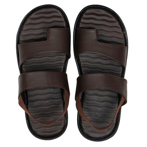 Kraasa S10 Brown Casual Sandals