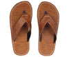 Kraasa 824 Tan Slippers - TheKraasa