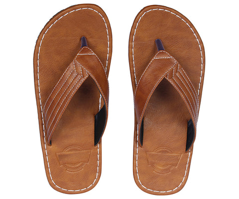 Kraasa 824 Tan Slippers