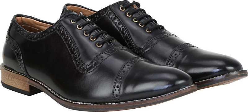 Kraasa Style Keeper Lace Up For Men (Black)