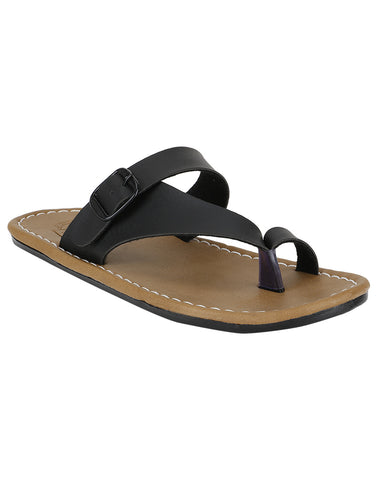 Kraasa 864 Black Slippers