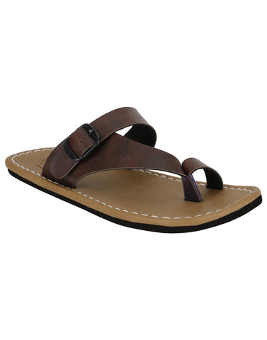 Kraasa 864 Brown Slippers