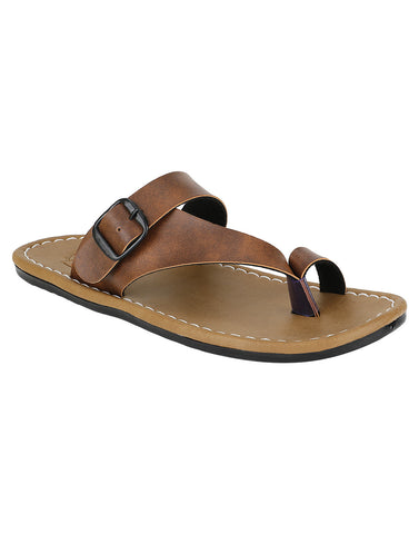 Kraasa 864 Tan Slippers