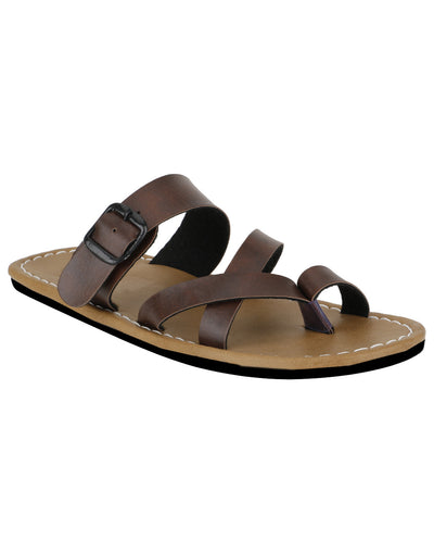 Kraasa 872 Brown Slippers - TheKraasa
