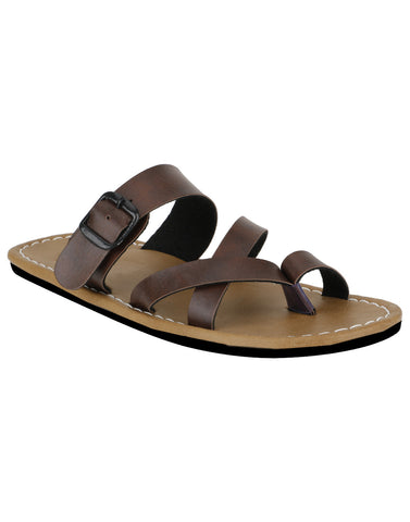 Kraasa 872 Brown Slippers