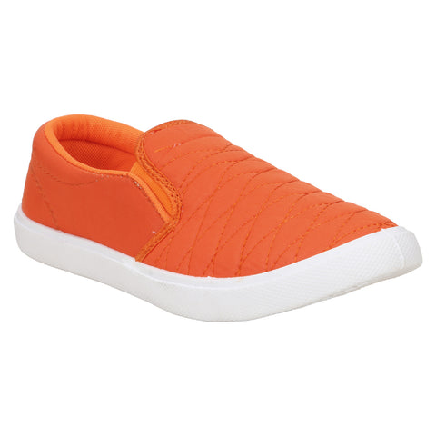 Shoe Daddy Loafers For Men (Orange)