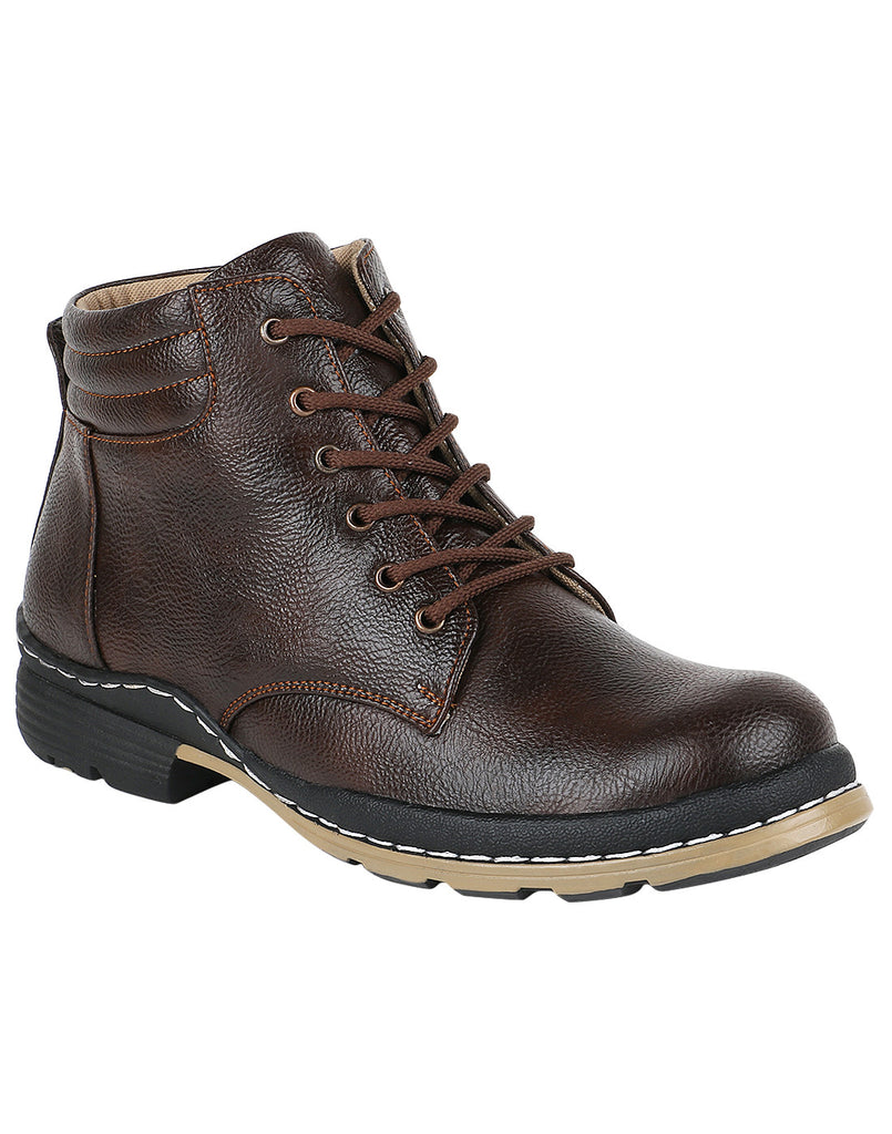 Kraasa 932 Brown Long Boots - TheKraasa