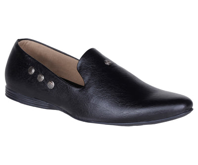 Kraasa 937 Black Loafers - TheKraasa