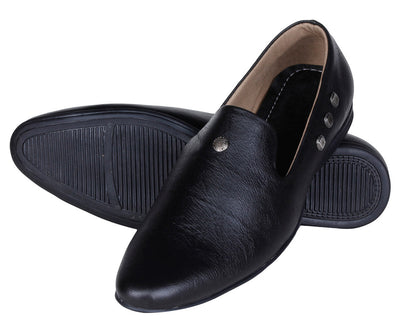 Kraasa 937 Black Loafers