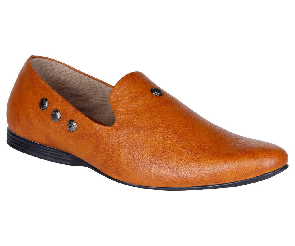 Kraasa 937 Tan Loafers - TheKraasa