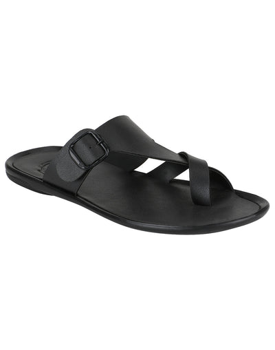 Kraasa 952 Black Slippers - TheKraasa
