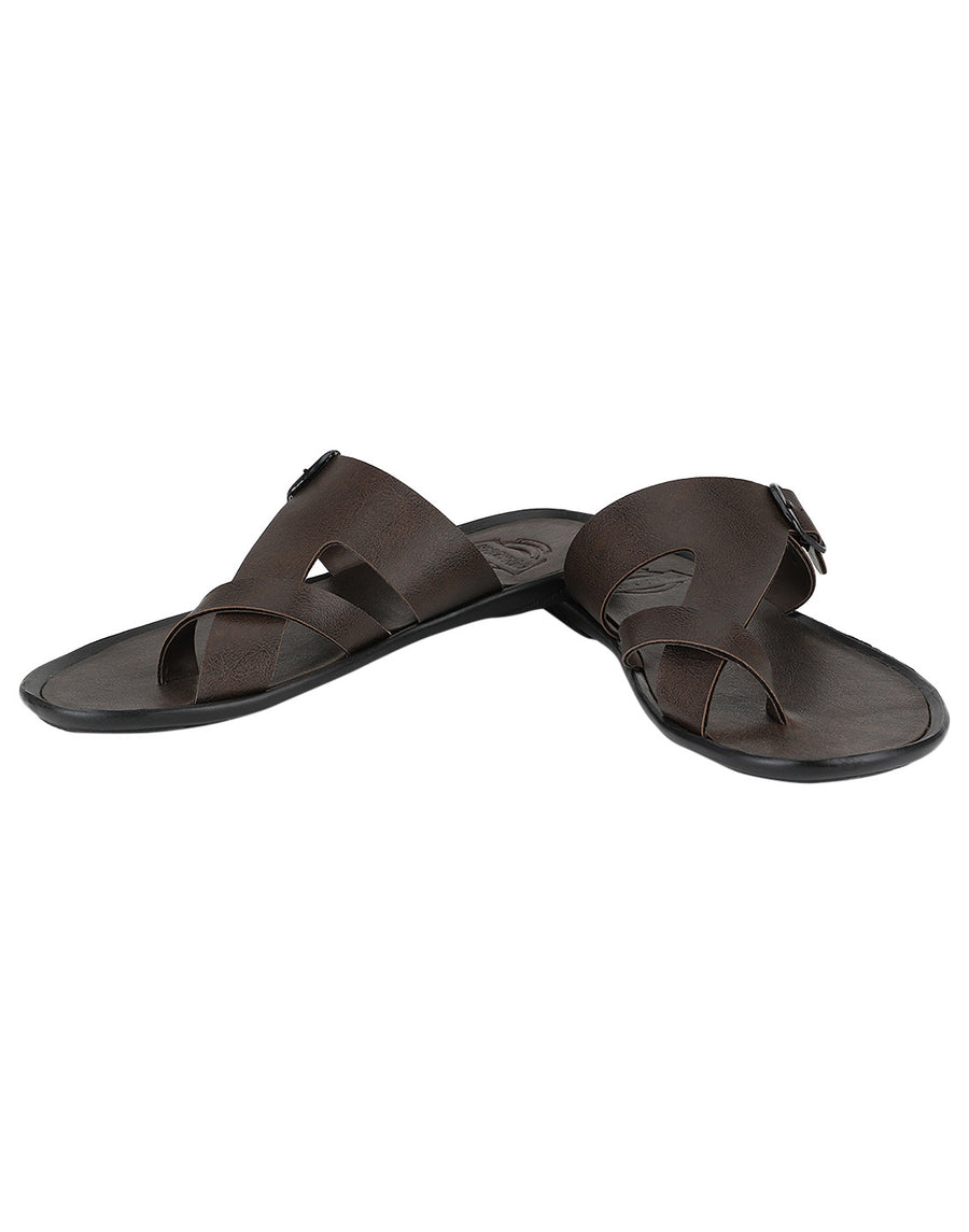 Kraasa 952 Brown Slippers - TheKraasa