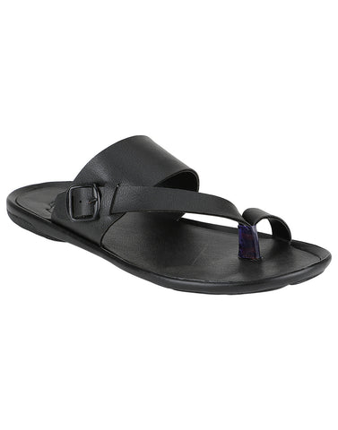Kraasa 958 Black Slippers
