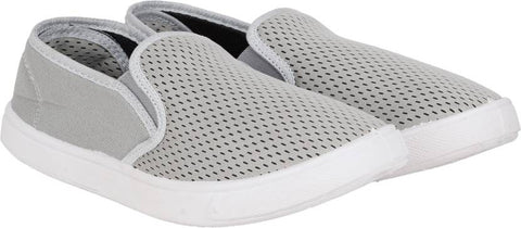 Shoe Daddy Slip On Sneakers For Men (Grey)