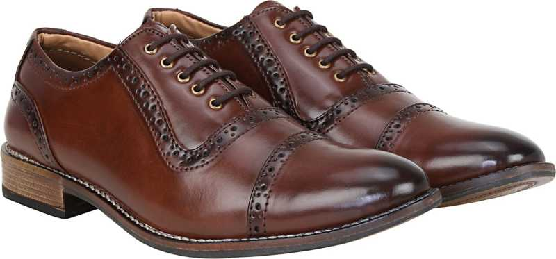 Kraasa Style Keeper Lace Up For Men (Brown)