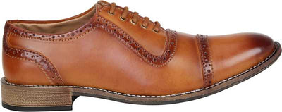 Kraasa Style Keeper Lace Up For Men (Tan)