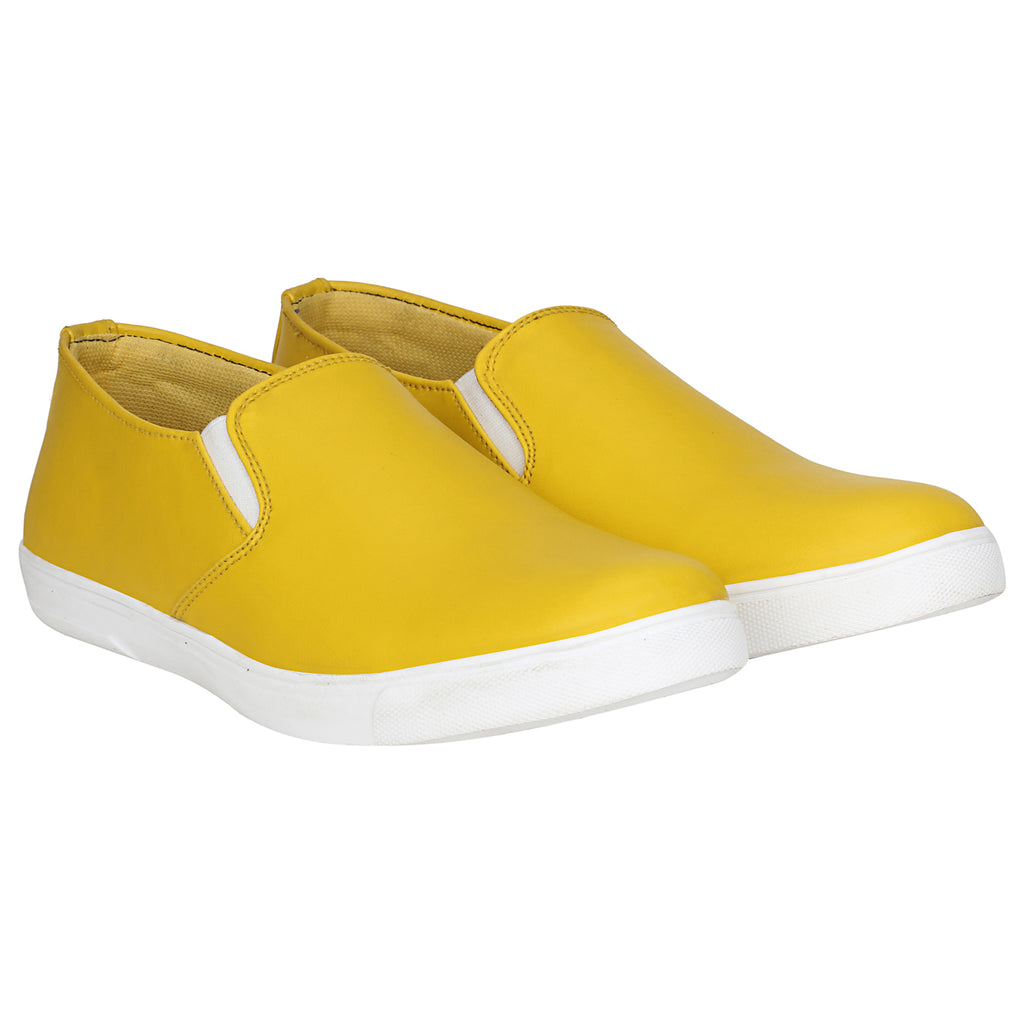 Kraasa 4137 Yellow Loafers