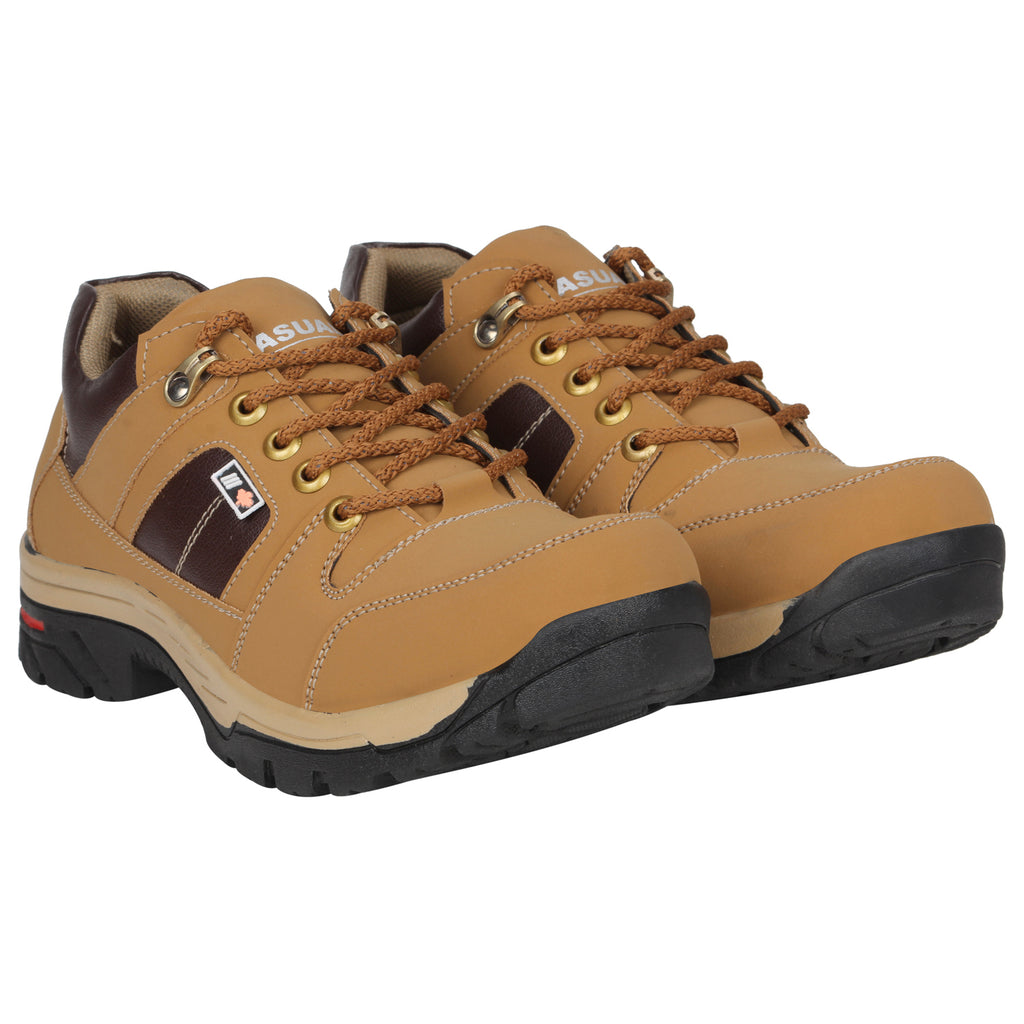 Kraasa 4155  Tan Casual Boots for men