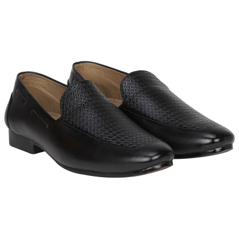 Kraasa 4135 Black Loafers