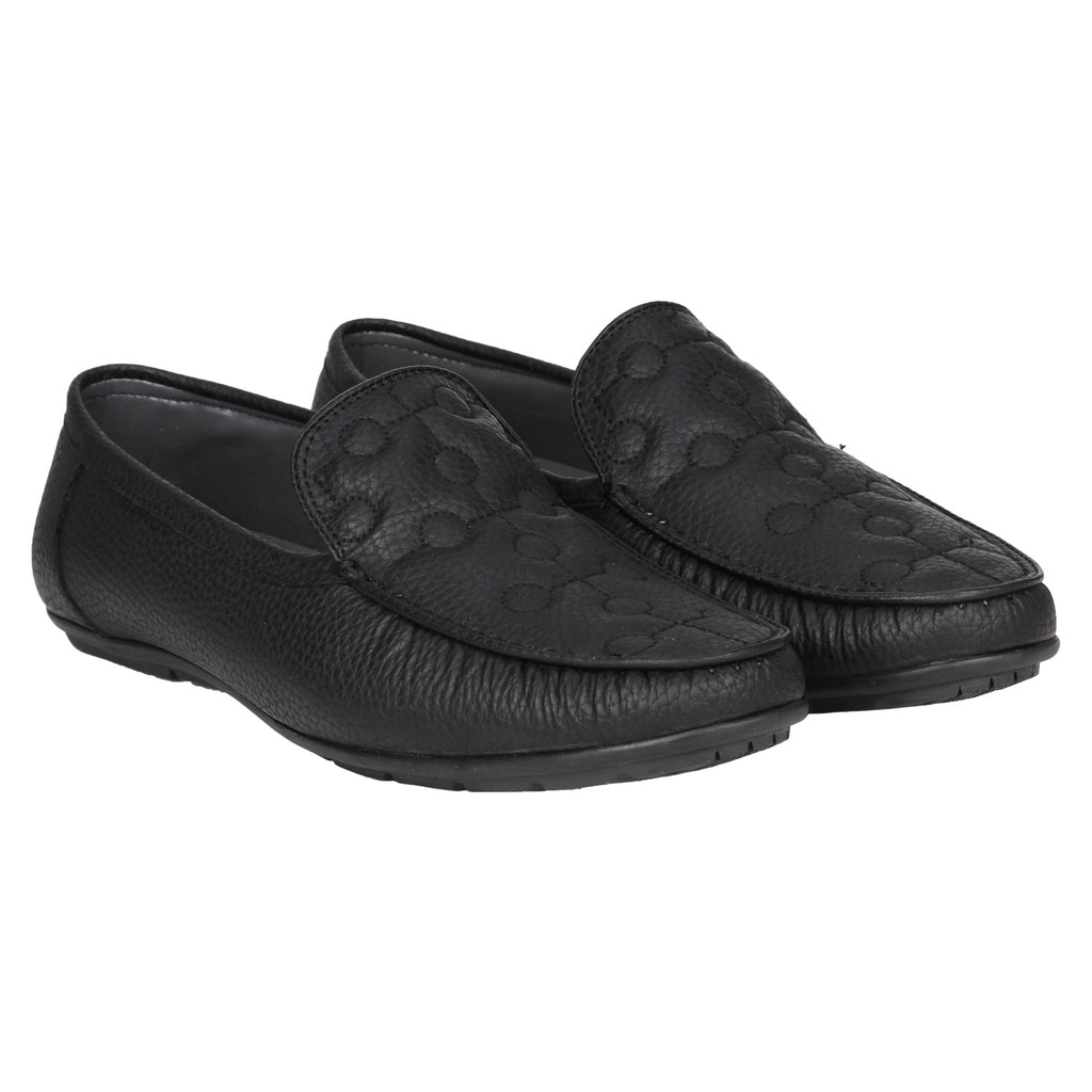 Kraasa 4173 Black Casual Loafers
