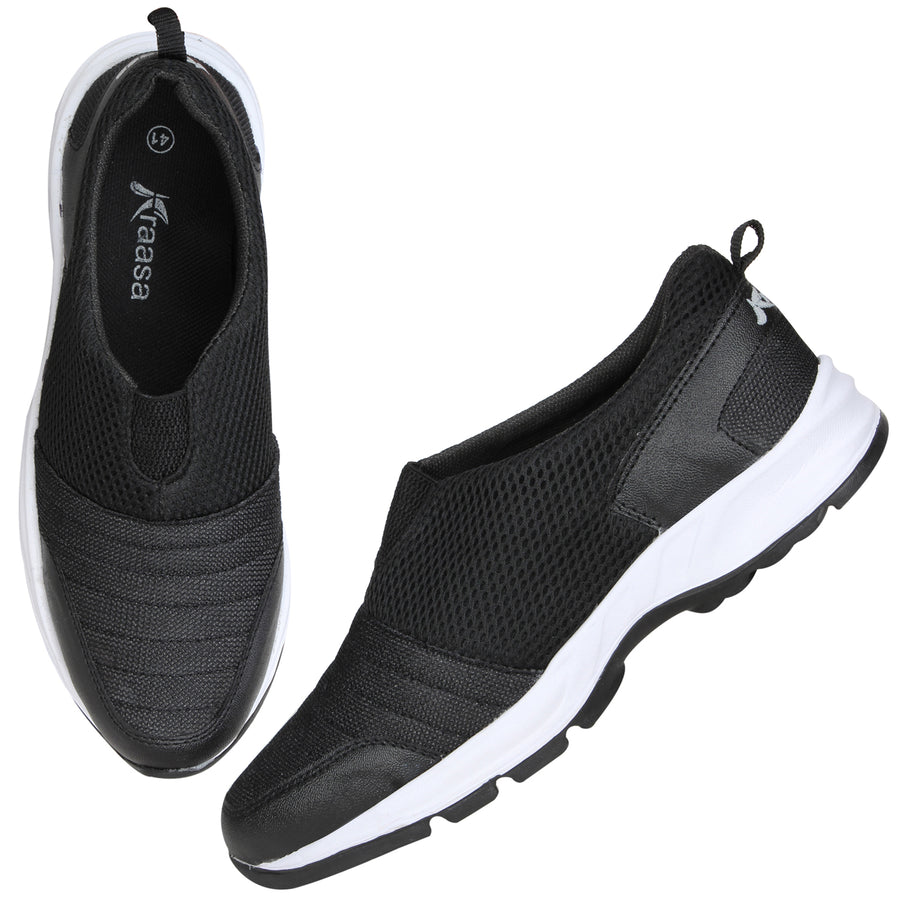 Kraasa 7038 Black Sports Shoes