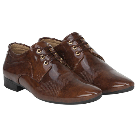 Kraasa 1076 Brown Formal Shoes