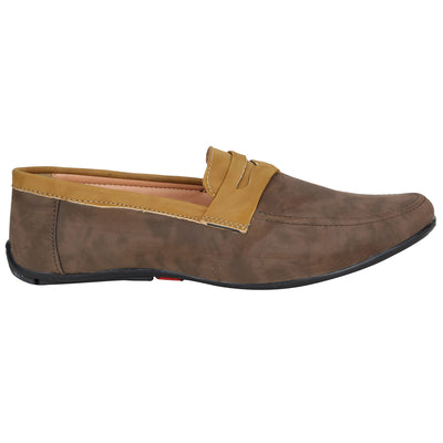 Knot n Lace 4111 BrownTan Casual Shoes