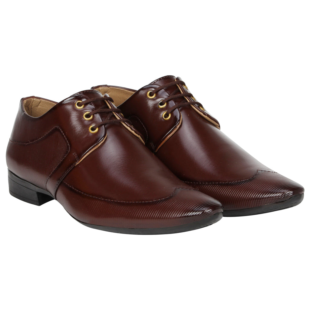 Kraasa 1074 Brown Formal Shoes