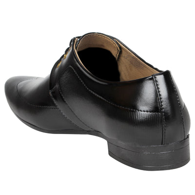 Kraasa 1074 Black Formal Shoes