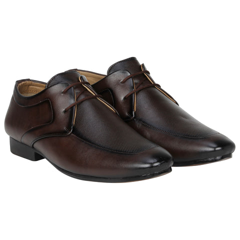 Kraasa 1072 Coffee Formal Shoes