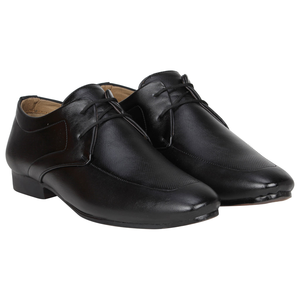 Kraasa 1072 Black Formal Shoes