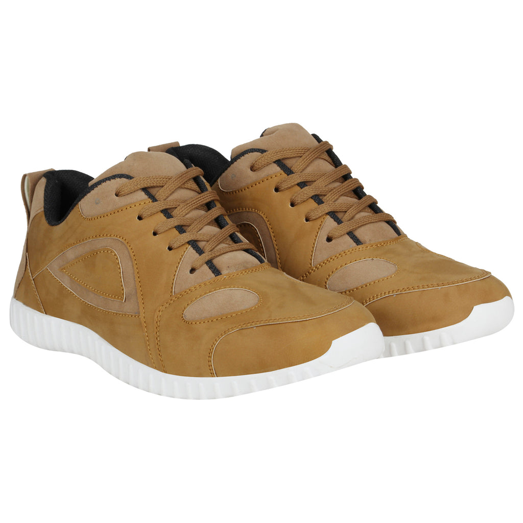 Kraasa 4117 Tan Casual Shoes