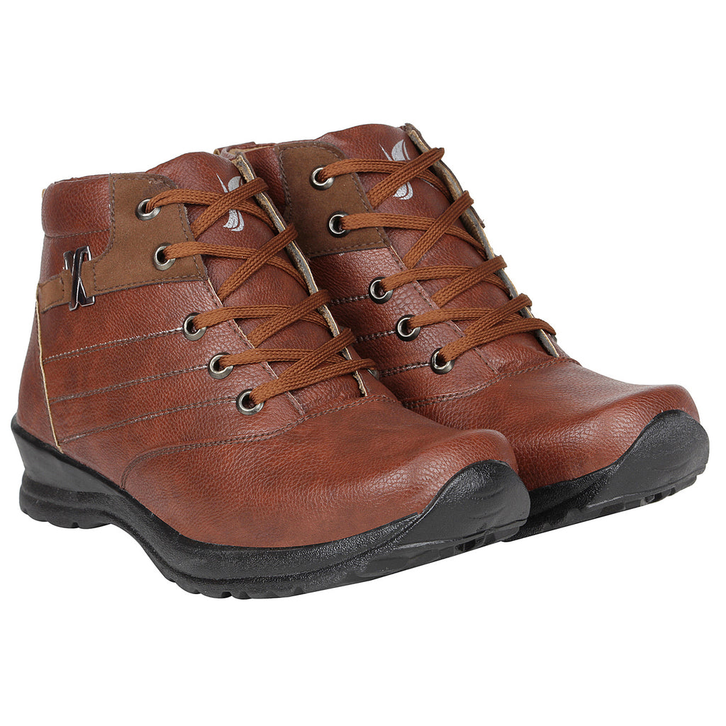 Kraasa 4159  Brown Casual Boots for Men