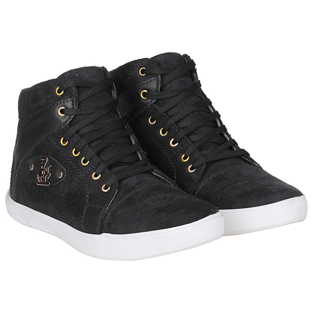 Kraasa 4161 Black Casual Boots