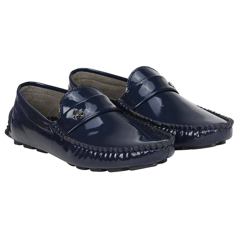 Kraasa 4141 Navy Loafers