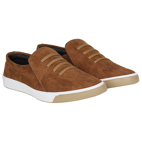 Kraasa 4164 Tan Casual Loafers