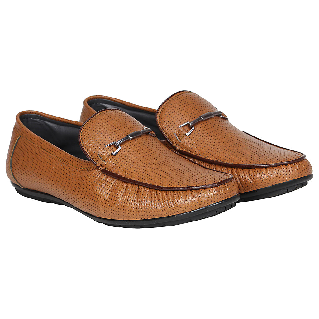 Kraasa 4163 Brown Casual Loafers