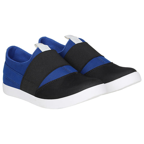Kraasa 4162 BlackBlue Slip-on Sneakers