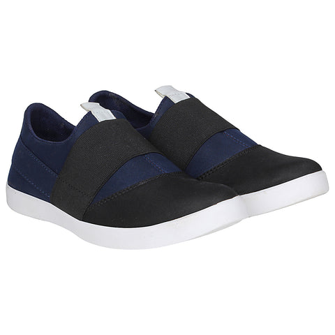 Kraasa 4162 BlackNavy Slip-on Sneakers