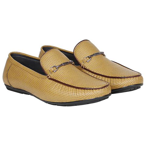 Kraasa 4163 Beige Casual Loafers