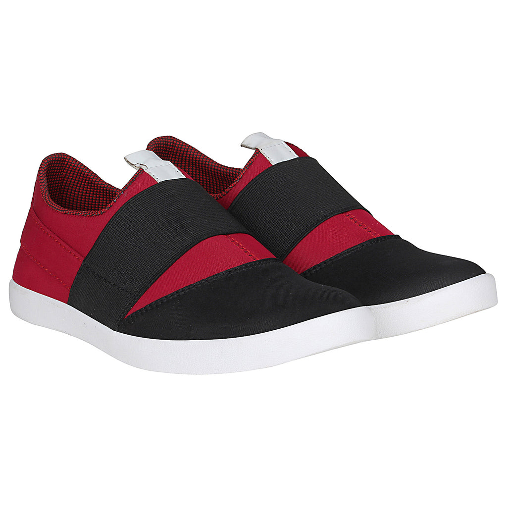 Kraasa 4162 BlackCherry Slip-on Sneakers